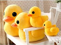 Yellow Duck stuffed animal